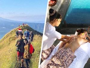 Batur Trekking & Spa Tour
