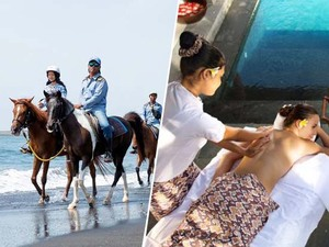 Horse Riding & Spa Tour