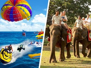 Water Sports & Elephant Ride Tour