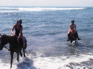 Horse Riding & Tanah Lot Tour